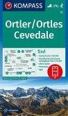 KOMPASS Wanderkarte Ortler/Ortles, Cevedale