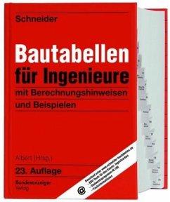 Schneider - Bautabellen für Ingenieure - Schneider, Klaus-Jürgen