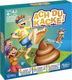 Hasbro E2489100 - Ach Du Kacke, Kinderspiel, Vo...