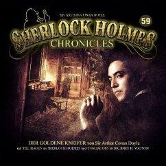 Sherlock Holmes Chronicles - Der goldene Kneifer, 1 Audio-CD