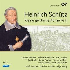 Kleine Geistliche Konzerte Ii (Schütz-Ed Vol.17) - Sämann/Schicketanz/Erler/Poplutz/Mäthger/Remy/+
