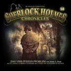 Sherlock Holmes Chronicles - Das Vier-Pfeifen-Problem, 1 Audio-CD