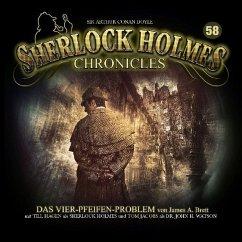 Sherlock Holmes Chronicles - Das Vier-Pfeifen-Problem, 1 Audio-CD