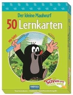 Der kleine Maulwurf Lernkarten Schreib-und-wisc...