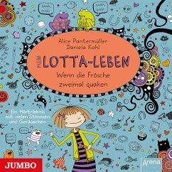 Wenn die Frösche zweimal quaken / Mein Lotta-Leben Bd.13 (MP3-Download) - Pantermüller, Alice; Kohl, Daniela