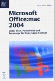 Microsoft Office:mac 2004 (Mängelexemplar)