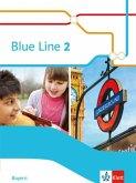 Blue Line 2. Schülerbuch Klasse 6. Ausgabe Bayern