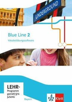 6. Klasse, Vokabelübungssoftware / Blue Line, Ausgabe Mittelschule Bayern 2017 .2