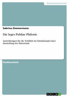 Die leges Publiae Philonis