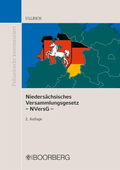 Niedersächsisches Versammlungsgesetz - NVersG - (eBook, PDF) - Ullrich, Norbert