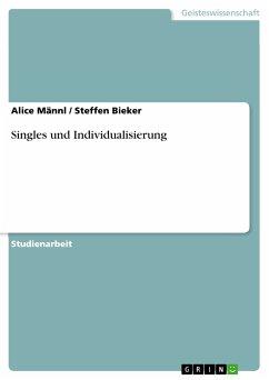 Singles und Individualisierung (eBook, PDF)