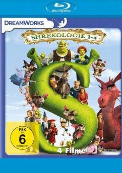 Shrek 1-4 - Die Komplette Shrekologie BLU-RAY Box - Keine Informationen