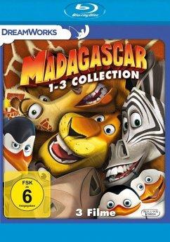Madagascar 1-3 BLU-RAY Box - Keine Informationen