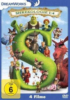 Shrek 1-4 - Die Komplette Shrekologie DVD-Box - Keine Informationen