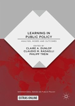 Learning in Public Policy