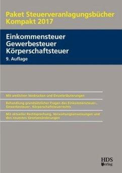 Paket Steuerveranlagungsbücher Kompakt 2017