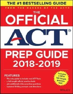 The Official ACT Prep Guide, 2018-19 Edition (B...