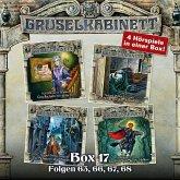 Gruselkabinett, Box 17: Folgen 65, 66, 67, 68 (MP3-Download)