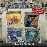 Gruselkabinett, Box 14: Folgen 53, 58, 59, 60 (MP3-Download)