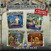 Gruselkabinett, Box 16: Folgen 61, 62, 63, 64 (MP3-Download)