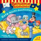 Benjamin Blümchen - Gute-Nacht-Geschichten - Folge 27: Krümel, der freche Hamster (MP3-Download)
