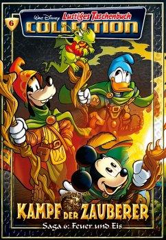 Kampf der Zauberer - Feuer und Eis / Lustiges Taschenbuch Collection Bd.6 - Disney, Walt