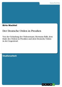 Der Deutsche Orden in Preußen (eBook, ePUB)