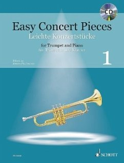 Easy Concert Pieces, Trompete und Klavier, m. Audio-CD