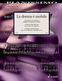 La donna è mobile. Klavier
