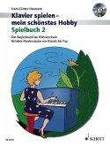 Klavier spielen - mein schönstes Hobby, Spielbuch m. Audio-CD