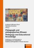 Pädagogik und pädagogisches Wissen (eBook, PDF)