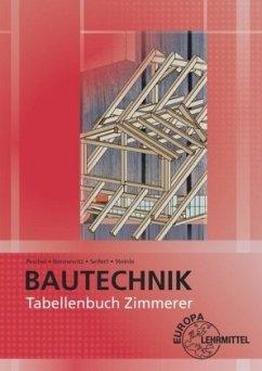 Tabellenbuch Zimmerer - Nennewitz, Ingo; Peschel, Peter; Seifert, Gerhard; Steinle, Jürgen