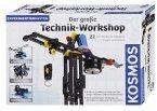 KOSMOS 628154 - Der Große Technik Workshop, Experimente und Forschung, Bausatz, Technik