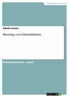 Messung von Antisemitismus (eBook, ePUB)