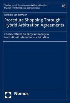 Procedure Shopping Through Hybrid Arbitration A...