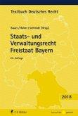Staats- und Verwaltungsrecht Freistaat Bayern