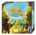 KOSMOS 694128 - Lost Cities, Das Brettspiel, Familienspiel