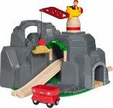 Brio 33889 - Brio World, Große Goldmine mit Sound-Tunnel, Spielset, Holzeisenbahn