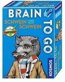 KOSMOS 690823 - Brain To Go, Schwein oder nicht Schwein, Familienspiel, Mitbringspiel, Reisespiel