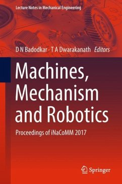 Machines, Mechanism and Robotics