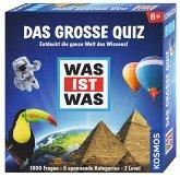 KOSMOS 697891 - WAS IST WAS, Das Große Quiz, Entdeckt die ganze Welt des Wissens, Familienspiel, Ratespiel