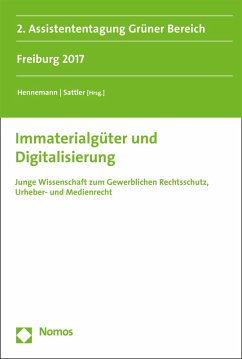 Immaterialgüter und Digitalisierung (eBook, PDF)