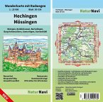NaturNavi Wanderkarte mit Radwegen Hechingen - Mössingen
