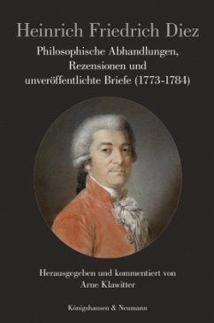 Philosophische Abhandlungen, Rezensionen und un...