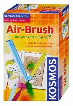 KOSMOS 657604 - Air BRush, Sprüh Effekt zaubern, Experimente und Forschung, Mitbring Experiment