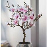 Kunstpflanze Magnolienbaum