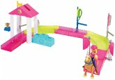Barbie On The Go Pony-Rennen Spielset