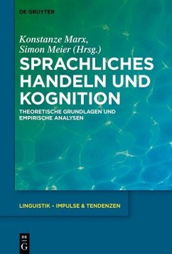 Sprachliches Handeln und Kognition (eBook, PDF)