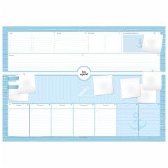 Schreibtischunterlage aus Papier mit 50 Blatt zum Abreißen - Hochwertige Schreibunterlage im Format DIN A2, Papierunterlage für Kinder und Erwachsene - Wirth, Lisa