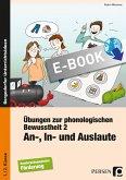 Übungen zur phonologischen Bewusstheit 2 (eBook, PDF)